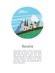 Bavaria. Vector illustration.