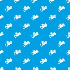 Without tap pipe pattern vector seamless blue repeat for any use