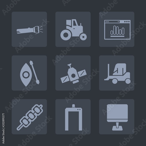 Premium set of fill icons  Such as water, kayak, kayaking