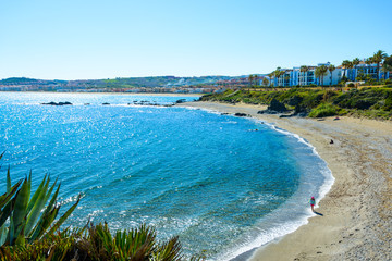 Playa Chica, Casares, Andalusia, Spain