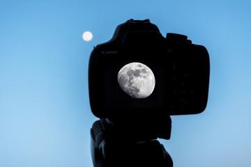Fotografando la Luna