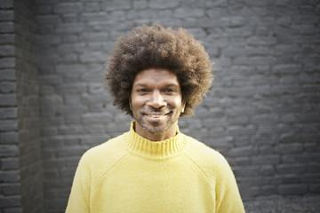 Portrait of a black British Street Performer