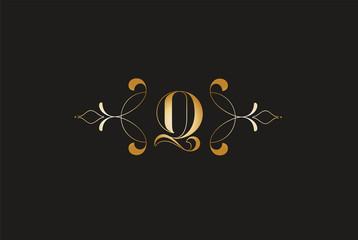 Elegant Letter Z  Golden Design.Creative Monogram Logo