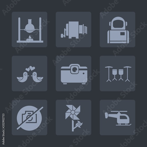 Premium set of fill icons  Such as sign, space, medicine