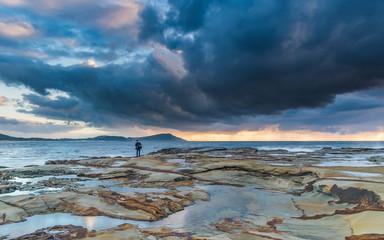 Capturing the Sunrise - Seascape