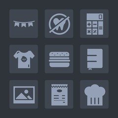 Premium set of fill icons. Such as event, dentist, tooth, calculator, notebook, business, paper, concept, frame, baby, menu, care, picture, white, happy, flag, celebration, dental, clothing, clothes