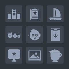 Premium set of fill icons. Such as hot, drink, weight, childhood, fitness, picture, health, download, hygiene, measurement, teapot, star, patient, vacation, dental, sign, computer, doctor, service