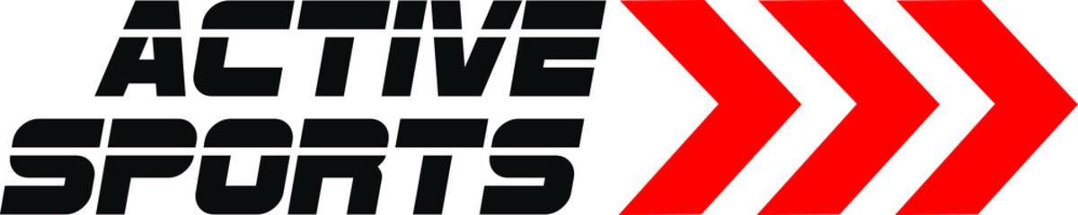 Active Fitness Sports Logo