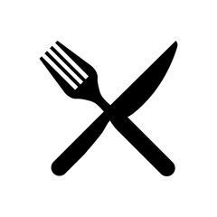 Fork & Knife Restaurant Icon