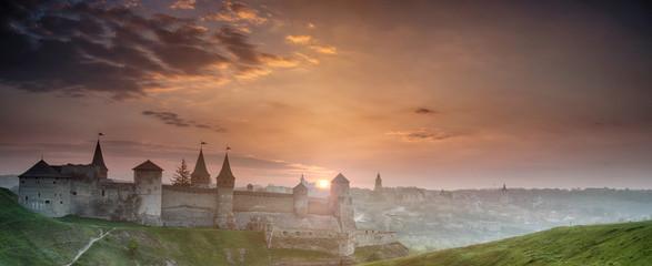 Foto op Canvas Ridders Kamyanets-Podilskiy fortress, Ukraine