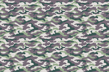 Army gray green camouflage texture. Vector