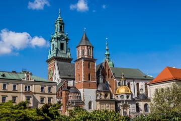 Le château du Wawel et Basilique Cathédrale Saints-Stanislas-et-venceslas de Cracovie