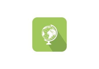 Map icon symbol logo
