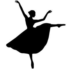 Ballerina dancer silhouette, Ballet dance clipart, Ballerina vector, Svg, png, eps,   jpg