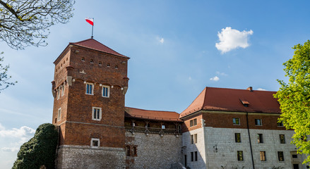 Le château du Wawel à Cracovie