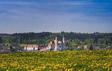 Benedictine abbey in Ottobeuren, Allgau, Germany