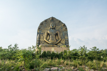 The Great Buddha statue at khao ito, Ban phra Prachin Buri