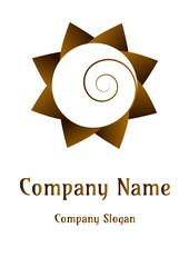 Geometric company logo, Circle Art of Earth