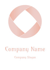 Geometric company logo, Circle Magic skintone