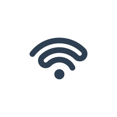 Wi-fi icon - vector illustration download