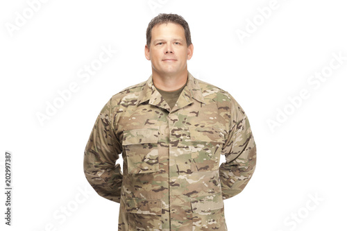 U S  Army Soldier, Sergeant  Parade Rest