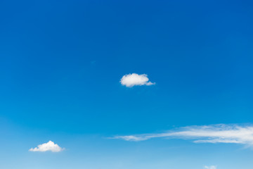 Sky background with white clouds