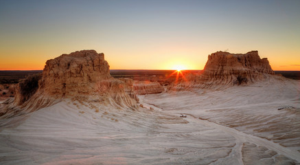 Sunset at Mungo