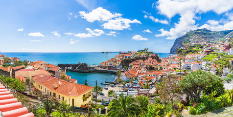 Wall Mural - Camara de Lobos, panoramic view. Madeira island, Portugal