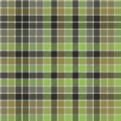 Green check plaid tartan seamless pattern
