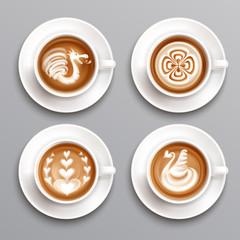 Latte Coffee Set