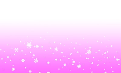 Background winter pink with white color illustration.