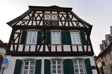 Barockes Fachwerkhaus in Bad Bergzabern