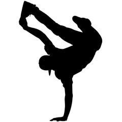 Male Break Dancing silhouette, Female Break Dancing clipart, Break Dancing sports vector, Svg, png, eps,   jpg