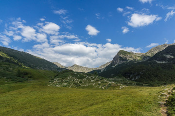 Amazing Landscape of Yalovarnika  peaks and Begovitsa River Valley, Pirin Mountain, Bulgaria