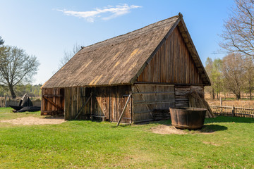 Old wooden farmstead