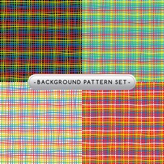 background pattern set collection