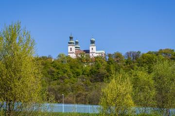 Le Monastère des Pères Camaldolese vu depuis Le Vistule