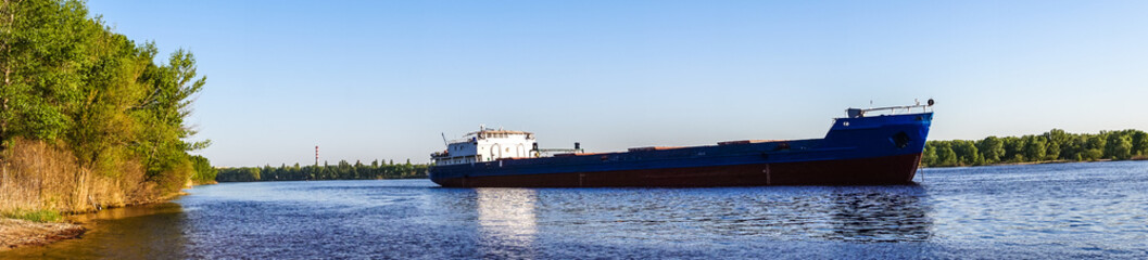Cargo river barge