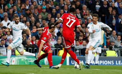 Champions League Semi Final Second Leg - Real Madrid v Bayern Munich