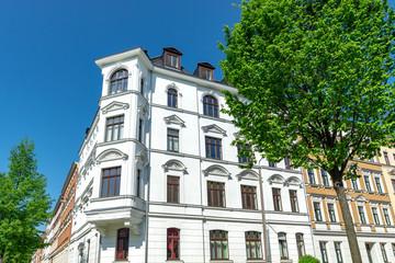 Gründerzeithaus in Deutschland, hochwertige Fassade