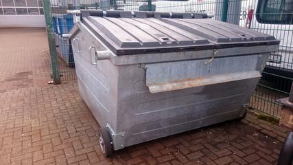 Abfallcontainer für Gewerbeabfälle