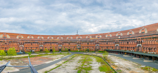 View of former Nazi congress hall in Nurnberg, Germany