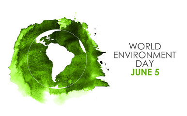 World environment day concept. Vector Illustration