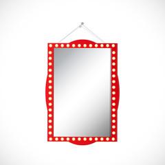 Hanging Mirror Illustration