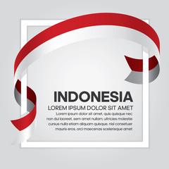 Indonesia flag background