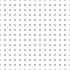 Seamless pattern from crossed lines. Endless background from crosses