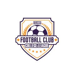Football club vector icon