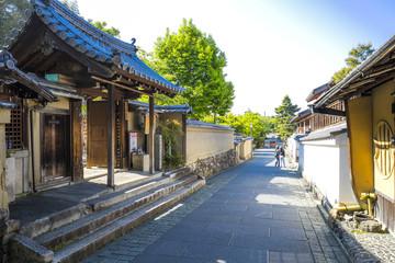 京都の街並み風景