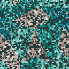 Urban triangle seamless pattern