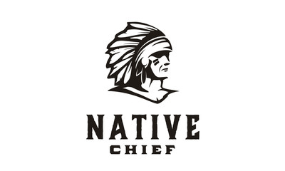 America Native / Indian Chief illustration